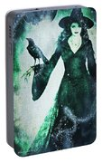 The Midnight Garden Witch Portable Battery Charger