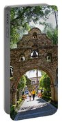 The Mission Inn Entrance Portable Battery Charger
