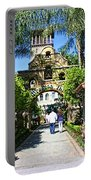 The Mission Inn Stage Coach Entrance Portable Battery Charger