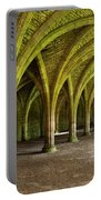 The Monks Cellarium, Fountains Abbey.  Portable Battery Charger