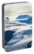 The Monte Rosa Glacier In Switzerland Portable Battery Charger