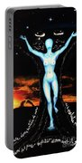 The Moon Goddess Portable Battery Charger