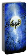 the moon of Lunala Portable Battery Charger