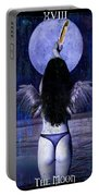 The Moon Portable Battery Charger by Tammy Wetzel