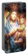 The Mother Of The King Is Queen Portable Battery Charger