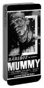 The Mummy 1932 Movie Poster  Portable Battery Charger