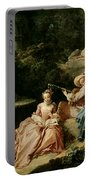 The Music Lesson Portable Battery Charger by Francois Boucher