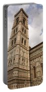 The Neo Gothic Facade Of The Duomo In Florence Portable Battery Charger