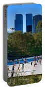 The New York Central Park Ice Rink  Portable Battery Charger