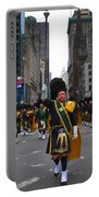 The New York City Police Emerald Society Pipe And Drum Corps Portable Battery Charger