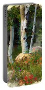 The North Rim Forest Portable Battery Charger