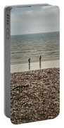 The Ocean Can Make You Feel Small, Bognor Regis, Uk. Portable Battery Charger
