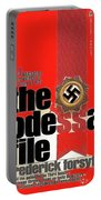 The Odessa File Frederick Forsyth Book Cover 1972 Color Added 2016 Portable Battery Charger