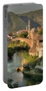 The Old Bridge Of Mostar  Portable Battery Charger