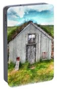 The Old Chicken Coop Iceland Turf Barn Portable Battery Charger