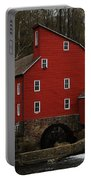 The Old Mill In Clinton Nj Portable Battery Charger