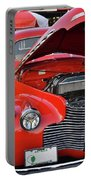 The Old Red Jalopy Portable Battery Charger