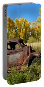 The Old Truck  Chama New Mexico Portable Battery Charger