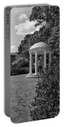 The Old Well At Chapel Hill In Black And White Portable Battery Charger