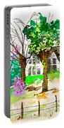 The Ole House In Spring Portable Battery Charger