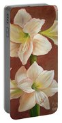 The Opening Flower Portable Battery Charger