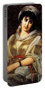 The Oriental Woman Portable Battery Charger