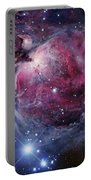 The Orion Nebula Portable Battery Charger by Robert Gendler