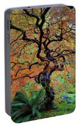 The Other Japanese Maple Tree In Autumn Portable Battery Charger