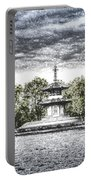 The Pagoda In The Snow Portable Battery Charger