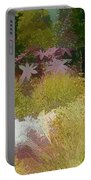 The Painted Garden Portable Battery Charger