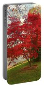 The Painted Leaves Portable Battery Charger