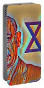 The Passion Of Benjamin Netanyahu Portable Battery Charger