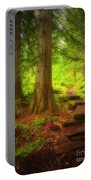 The Path Through The Forest Portable Battery Charger