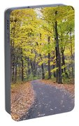 The Pathway To Fall Portable Battery Charger