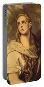 The Penitent Magdalene 1578 Portable Battery Charger