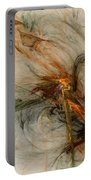 The Penitent Man - Fractal Art Portable Battery Charger