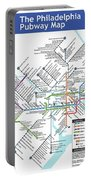 The Philadelphia Pubway Map Portable Battery Charger