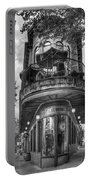 The Pickle Barrel 3 B W Flatiron Architecture Chattanooga Tennessee Art Portable Battery Charger