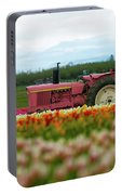 The Pink Tractor Portable Battery Charger