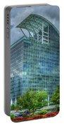 The Pinnacle Reflections Office Buildings Buckhead Atlanta Art Portable Battery Charger