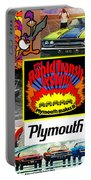 The Plymouth Rapid Transit System Collage Portable Battery Charger
