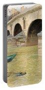 The Pont Marie. Paris Portable Battery Charger