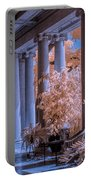 The Porch Of The European Collection Art Gallery At The Huntington Library In Infrared Portable Battery Charger
