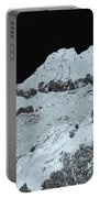 The Profile Of An Uncouth Guy Etched In Stone  Portable Battery Charger