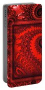 The Proper Victorian In Red  Portable Battery Charger