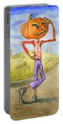 The Pumpkinhead Portable Battery Charger