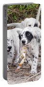 The Puppy's Prize Portable Battery Charger