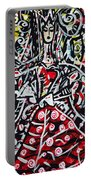 The Queen Of Hearts Portable Battery Charger