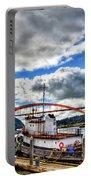 The Rainbow Bridge - Laconner Washington Portable Battery Charger
