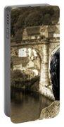 The Raven Of Knareborough Castle Portable Battery Charger